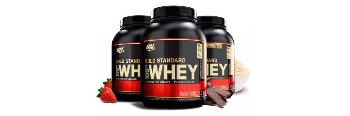 OPTIMUM NUTRITION 100% WHEY GOLD STANDARD 2,3 КГ