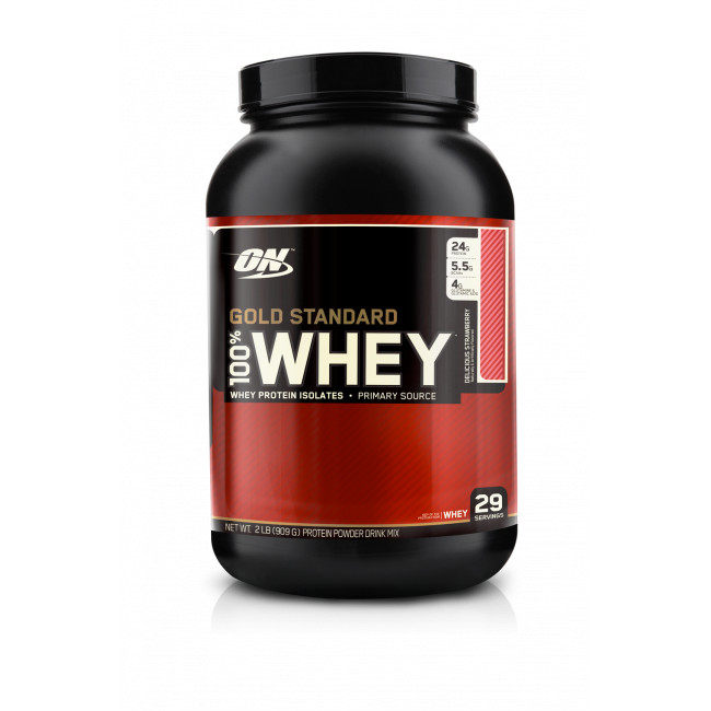 OPTIMUM NUTRITION 100% WHEY GOLD STANDARD 907 G