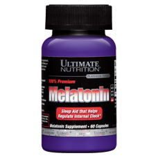 Ultimate Nutrition Melatonin 3mg 60caps