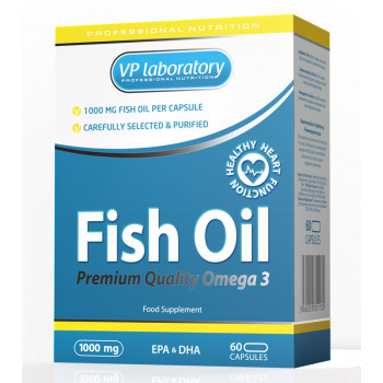 VP Laboratory Fish Oil 1000 мг